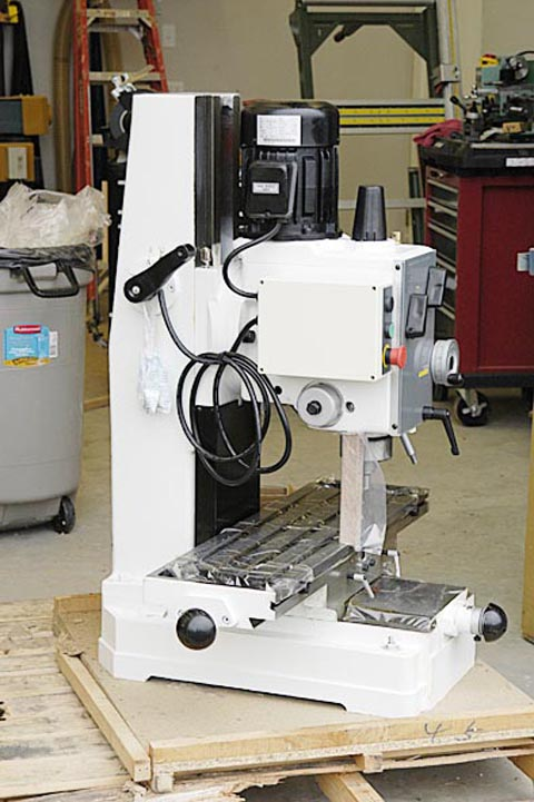 for this machine is as a quality drill press - mostly for woodworking ...